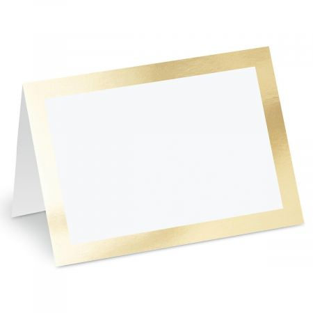 Deluxe Trimmed Blank Inside Greeting Cards
