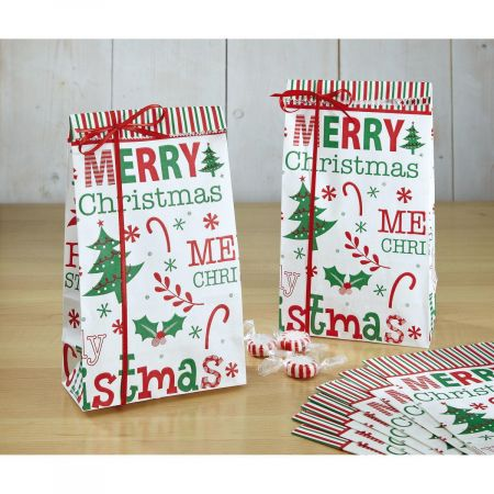 Merry Christmas Treat Bags - BOGO