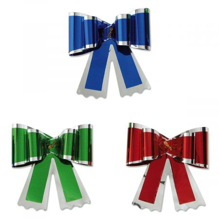 Metallic Butterfly Knot Pull Bows