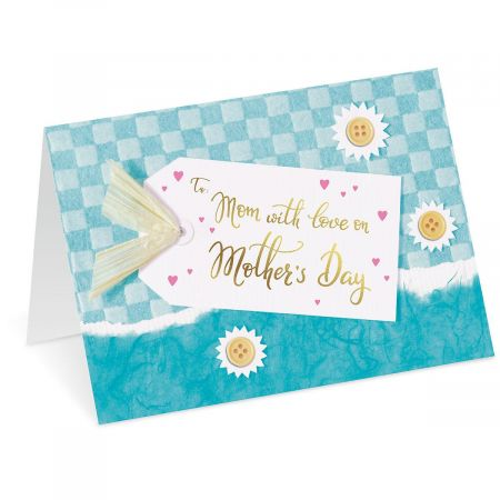 Mom's Tag Mother's Day Card