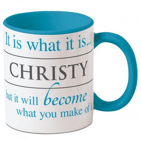 It Is What It Is Personalized Mug