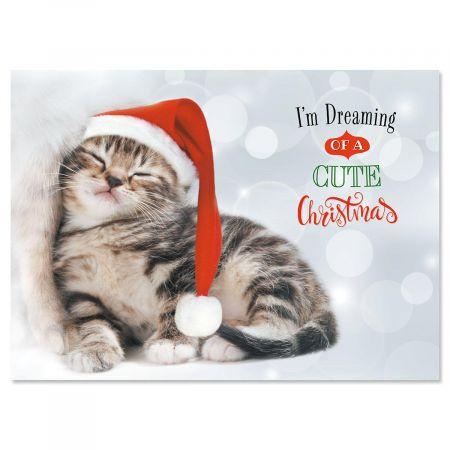 Christmas Kitten Christmas Cards