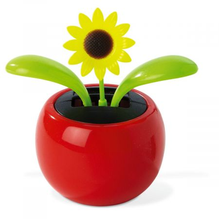 Solar-Powered Dancing Yellow Sunflower