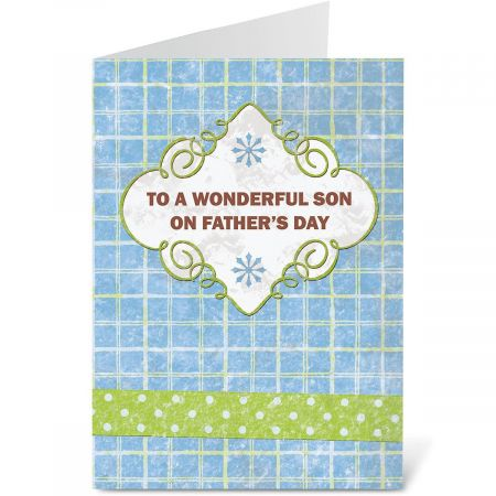 For Son Father's Day Card