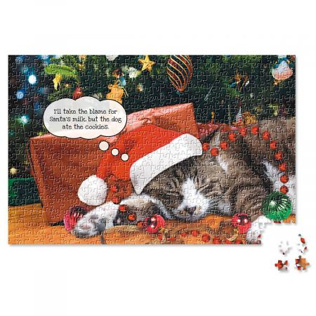 Christmas Cats Puzzle