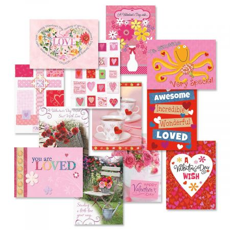 Valentine's Day Faith Greeting Cards Value Pack