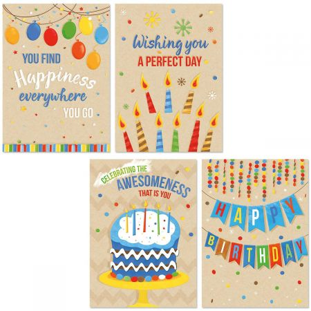 Kraft Birthday Cards