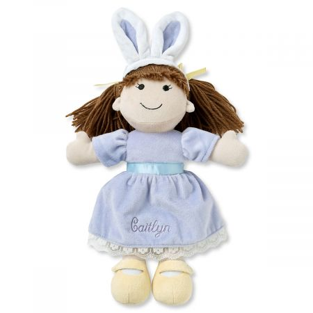 Kids Personalized Easter Bunny Ears Doll