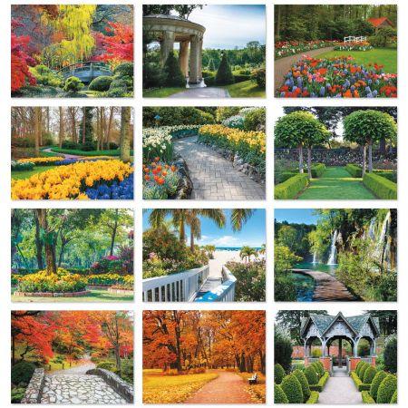 2018 Garden Path Wall Calendars