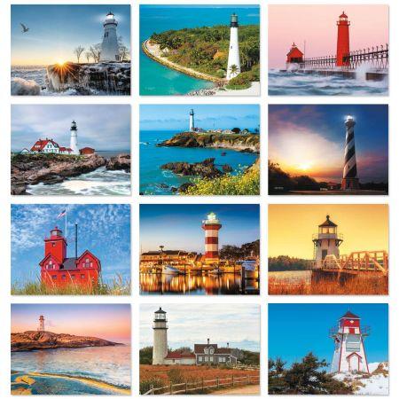 2018 Lighthouses Wall Calendar