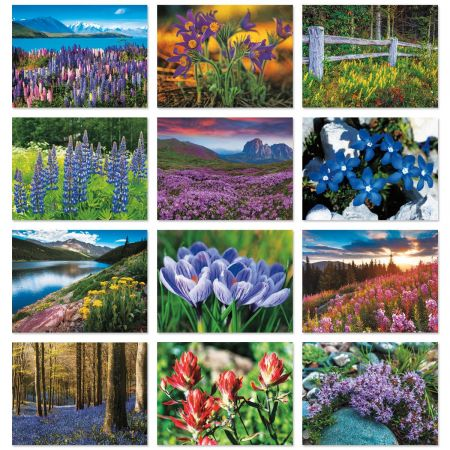 2018 Wildflowers Wall Calendar