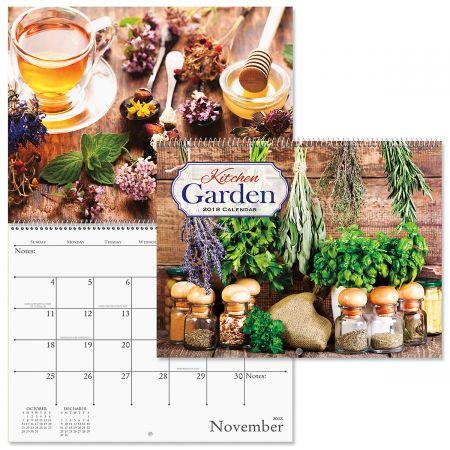 2018 Kitchen Garden Wall Calendar