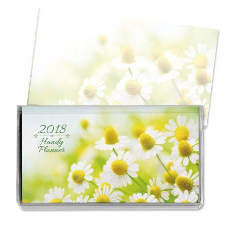 2018 Floral Pocket Calendar