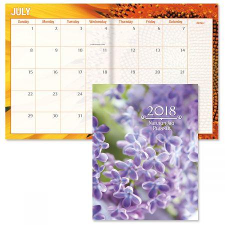 2018 Nature's Art Desk Calendar