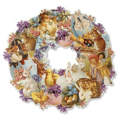 Easter Die Cut Wreath