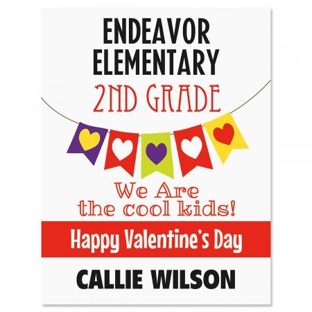 Banner Valentine Create-A-Cards