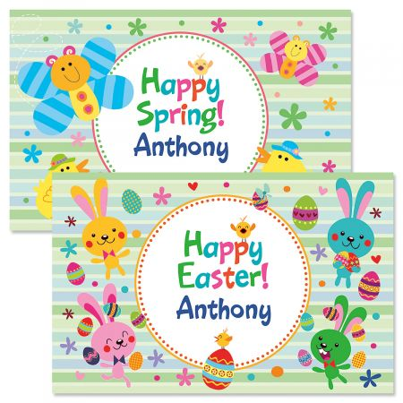 Personalized Easter Placemats-Boy-615900B