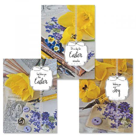 Vintage Easter Faith Cards
