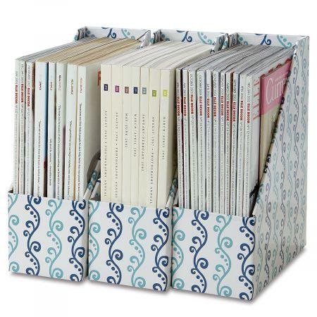 Scroll Pattern Magazine Holders