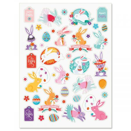 Bunny Love Stickers