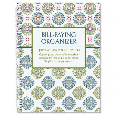 Fresh Patterns Bill Paying Organizer