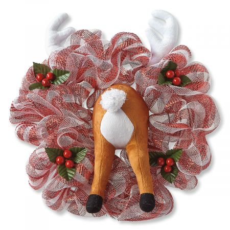 Reindeer Rear Wreath