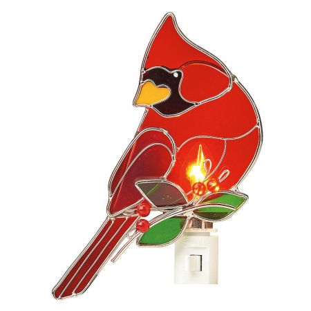 Cardinal Night Light