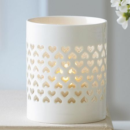 Simple Hearts Tealight Holder
