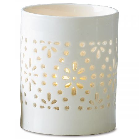 Cutout Pattern Tealight Holder