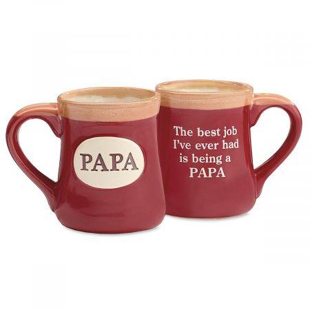Papa Porcelain Crock Mug
