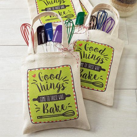 Bake Canvas Treat Bags