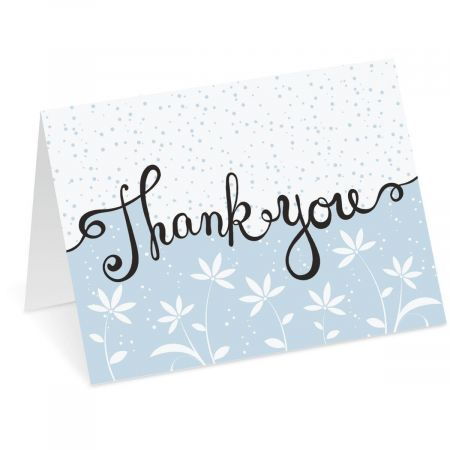 Satisfied Thank You Note Cards