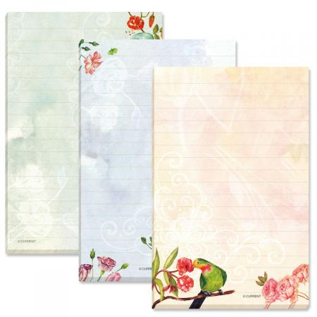 Relaxing Afternoon Lined Floral Notepads