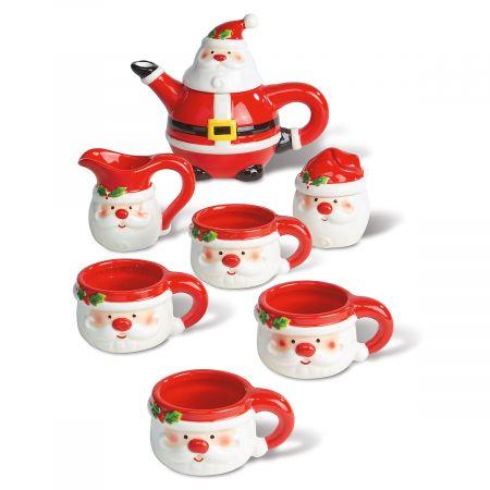 Santa Tea Set