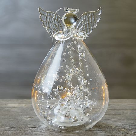 Light Up Beaded Angel