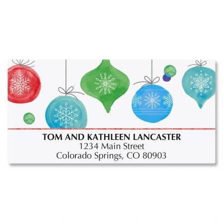 Peace, Love, and Joy Deluxe Address Labels