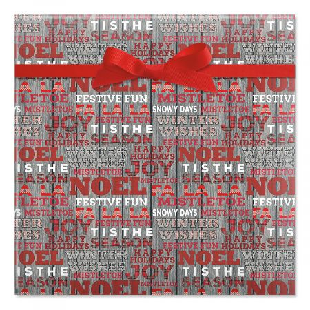 Woven Wishes Jumbo Rolled Gift Wrap