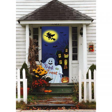 Trick or Treat Halloween Door Cover