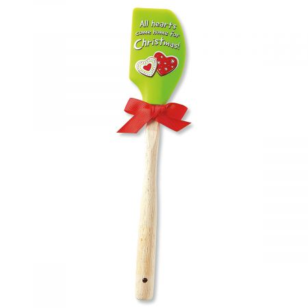 Hearts Come Home for Christmas Spatula