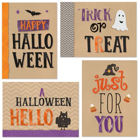 Bright and Bold Halloween Cards