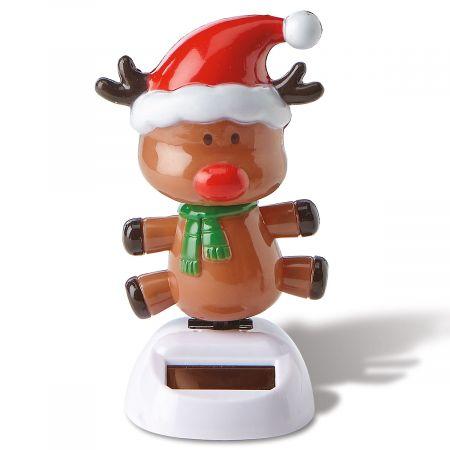 Reindeer Holiday Solar Dancer