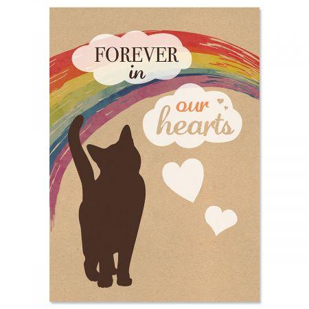 Cat Pet Sympathy Cards