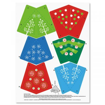 Christmas Tree Stickers