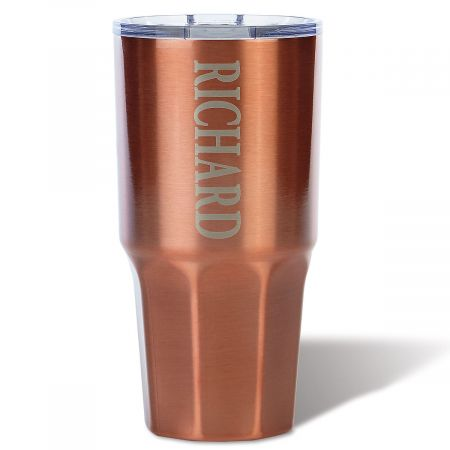 Personalized Copper Mammoth Tumbler
