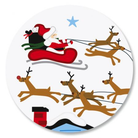 Merry Christmas Icons Seals