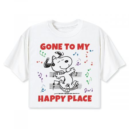 Peanuts® Gone to My Happy Place T-Shirt - Medium