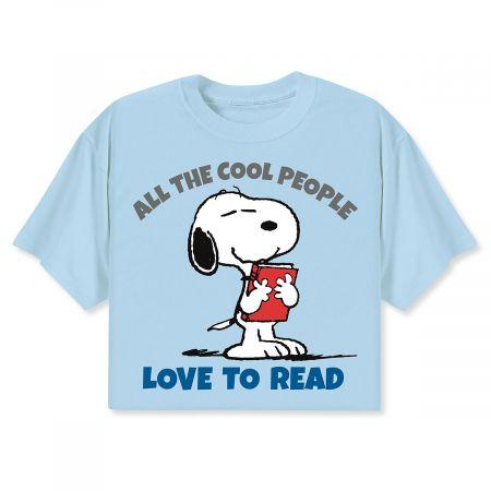 PEANUTS® T-shirts - Love to Read - XL