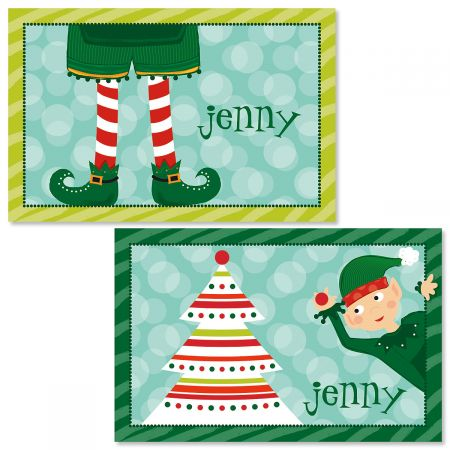 Personalized Elf Kids' Placemats