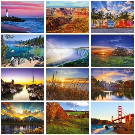 2019 America the Beautiful Wall Calendar