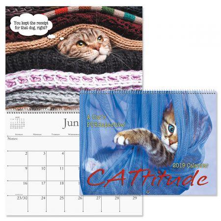 2019 Cattitudes Wall Calendar